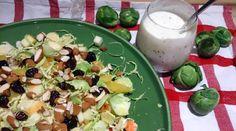 Saras madunivers: Lækker salat med Rosenkål, appelsin. æble, tørrede...