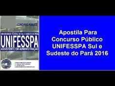 Apostila Concurso Público UNIFESSPA 2016 PR