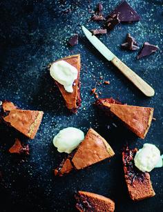 Ranskalainen suklaakakku & vuohenjuustojäätelö | Soppa365