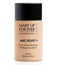 матирующий тональный крем: Make UpFor Ever— Mat Velvet