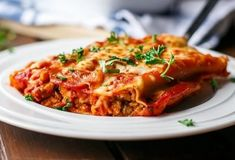 Turkey, Sweet Potato and Kale Cannelloni - Cafe Delites Thanksgiving Sweet Potato Recipes, Salsa, Sweet Potato Kale, Food Categories, Greek Recipes, Pasta Dishes, Dinner Recipes, Dinner Ideas, Clean Eating