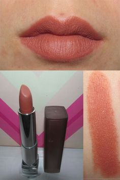 Maybelline creamy matte lipstick in clay crush 656