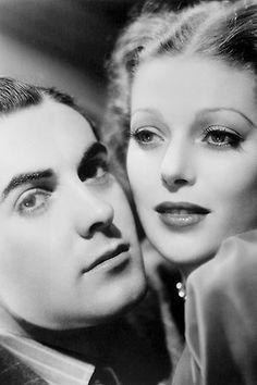 One of my favorite screen pairings in the history of cinema. I think they have wonderful chemistry and play perfectly to each others comedic timing, not to mention that they both are drop dead gorgeous. They made five movies together between 1936-1938, 'Ladies In Love' , 'Love Is News' , 'Cafè Metropole' , 'Second Honeymoon' , and 'Suez'.