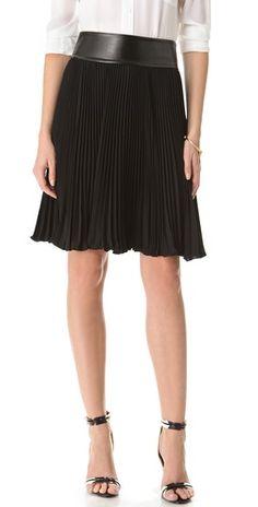 Diane von Furstenberg Panyin Pleated Skirt | SHOPBOP