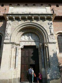 Saint Sernin de Toulouse. PORTADA SUR