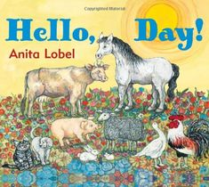 Large, simple text surrounded by white space help children see the words being read.