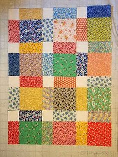 52 Quilts in 52 Weeks: Sunday Scraps