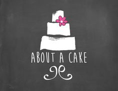 LOGO DESIGN for About a Cake in Paarl, South Africa. Elmien de Wet
