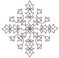 25 Rangoli Designs With Dots To Try In 2014