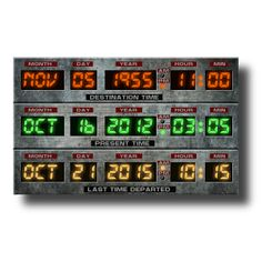 Time Circuits Widget
