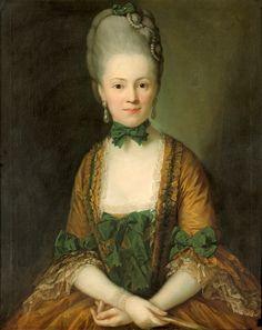 1772 Henriette von Carlowitz née von Rechenberg, by Anton Graff (auctioned by Galerie Bassenge) From adelina3.diary.ru/p198395031.htm?oam