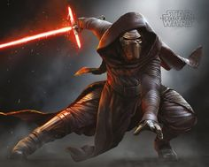 Star Wars - Episode VII - The Force Awakens - Kylo Ren Crouch - Official Mini Poster