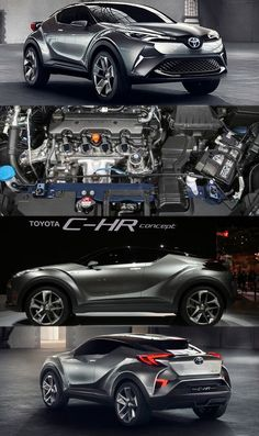Cool Toyota 2017: Toyota C-HR Crossover Makes its Way to Geneva Get more details at: www.replaceme... Toyota