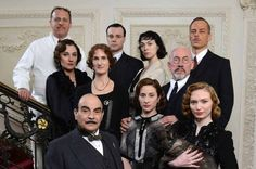 Poirot & casts in Labours of Hercules (ITV, 2013)