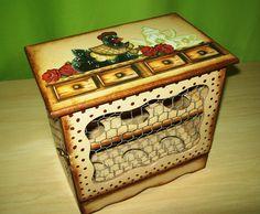 Caixa para guardar ovos de galinha by Renata Sousa Rio de Janeiro Brasil. em www.ikerapresentes.elo7.com.br