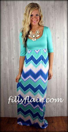Turquoise Love Maxi DressPurchase