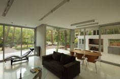 """Diseño de casa en el bosque   Casa en el bosque arquitectura """"Casa Fresno""""   Diseño y Arquitectura.es"""