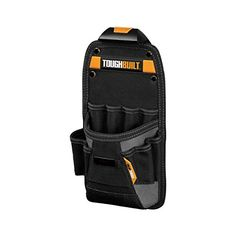 ToughBuilt - Technician Pouch - Heavy-duty Construction, Custom Tape Measure Clip, 11 Pockets and Loops, Tape Measure Clip (Patented ClipTech Hub & Belts) Leather Tooling, Cowhide Leather, Leather Tool Pouches, Leather Bags, Framing Hammer, List Of Tools, Utility Pouch, Tool Belt, Pouch Bag