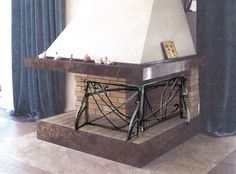 Оформление камина, производство #Metalmade: http://www.metal-made.ru/production/