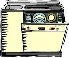 Make your own natural dishwasher/scouring powder