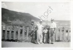 Three Men and a Viewfinder Vintage Snapshot 1930's by PhotoGhost