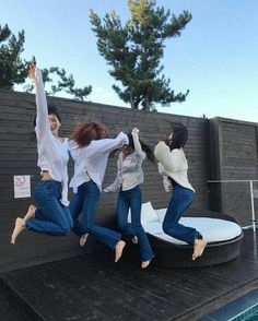 4 Best Friends, Korean Best Friends, Best Friend Pictures, Cute Friends, Girl Group Pictures, Bff Pictures, Ulzzang Korean Girl, Ulzzang Couple, Best Friends Aesthetic