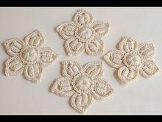 Маленький цветок на 5 лепестков - YouTube