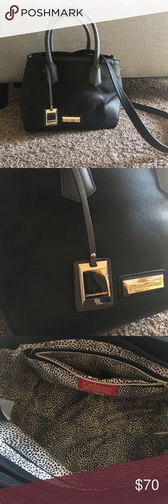 Black and Grey CATHERINE MALANDRINO Handbag Never worn excellent condition with tags Catherine Malandrino Bags Crossbody Bags