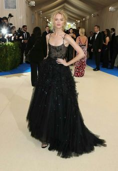 Met gala 2017 (Daria Strokous vestindo Christian Dior)