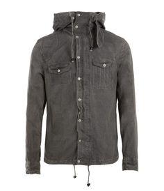 Allsaints: Eastland Hooded Shirt