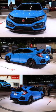 2020 Honda Civic Type R Arrives In Chicago With Outrageous New Color. Honda's hot hatch gets a wealth of performance and styling updates for Honda Crv, Honda Civic Hatchback, Civic Jdm, Honda Civic Type R, Honda Accord, Street Racing Cars, Chicago, Mc Laren, Japanese Cars