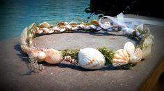 corona del Seashell cáscara de la venda playa por dieselboutique