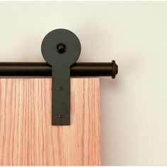 Quiet Glide 1-1/2 in. to 2-1/4 in. Round Stick Oil Rubbed Bronze Rolling Door Hardware Kit - QG1300RS07 at The Home Depot