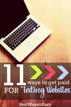 Make some extra money working from home as a website usability tester. This post has a list of 11 companies that pay.