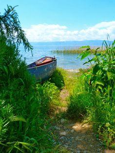 Lake Ohrid, Macedonia and Albania.  www.untravelledpaths.com
