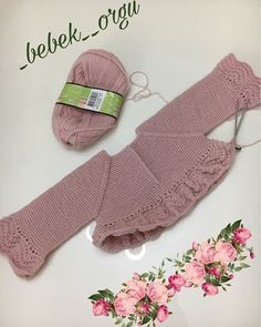 Best 11 Good evening – I'm knitting the sleeves of the dress right now, just rob – SkillOfKing. Baby Knitting Patterns, Knitting For Kids, Knitting For Beginners, Knit Baby Dress, Knitted Baby Cardigan, Baby Pullover, Diy Bebe, Knit Basket, Baby Sweaters