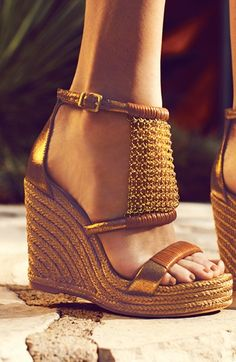 VC Signature 'Dellah' Wedge Sandal | Nordstrom these are awesome!