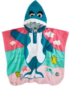 Name It Funny Dolphin Bathing Towel and Poncho. en.emilea.be