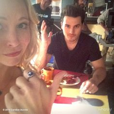 Candice Accola, and Michael Malarkey