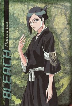 Nanao-chan, Vice-Captain of Squad 8 - Bleach