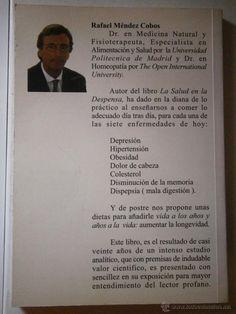 Libros de segunda mano: 7 enfermedades de hoy soluciones naturales Rafael Mendez Cobos Hufeland 2000 - Foto 3 - 46965759