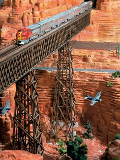 Miniatur Wunderland Hamburg Grand Canyon - Modellbau Modelleisenbahn Hamburg