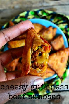 I love a good meal when I am watching a movie or a game. The epitome of this would be my cheesy Guinness beef samosas which I HIGHLY recommend you try out! Indian Food Recipes, Gourmet Recipes, Appetizer Recipes, Snack Recipes, African Recipes, Kenyan Recipes, Mince Recipes, Snacks, Baking Recipes
