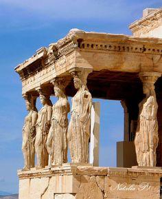The Caryatids, Athens Acropolis.