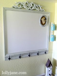 decor, whiteboard, craft, idea, command station, organ, white boards, cork boards, painted mason jars