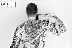 awesome tattoo, sweet baby. for JP & Harper