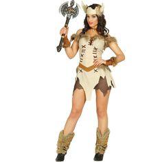 Disfraz de Vikinga #disfraces #carnaval