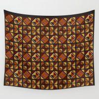 Zulu Sawubona Wall Tapestry