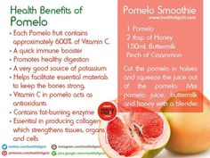 Health Benefits of Pomelo by Healthdigezt.com