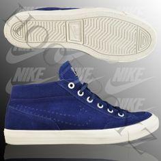 Nike  Chukka Go Suede High-Sneaker Dunkelblau Beige